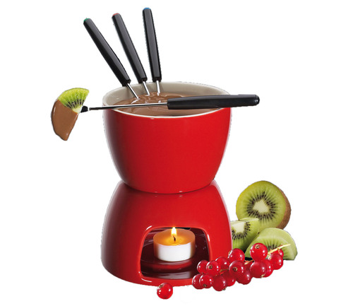 Chocolate Fondue Set from Cilio by Frieling. (PRNewsFoto/Frieling, Zoku) (PRNewsFoto/FRIELING, ZOKU)
