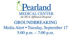 Pearland Medical Center Media Alert.  (PRNewsFoto/HCA Gulf Coast Division)