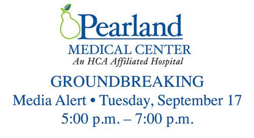 Pearland Medical Center Media Alert.  (PRNewsFoto/HCA Gulf Coast Division)