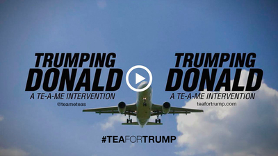 Will Mr. Trump drink the tea? Could you be the one to make Donald trump drink the tea? Perhaps, if enough of us ask, he just might. If you think Donald Trump needs to cleanse himself, add your voice using #teafortrump @teameteas www.teafortrump.com.