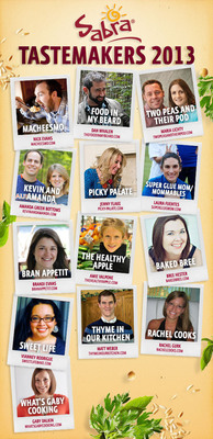 Top Food Bloggers Join Sabra's 2013 Tastemaker Panel