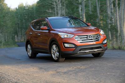 Two Hyundai Models Receive ALG Residual Value Awards.  (PRNewsFoto/Hyundai Motor America)