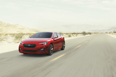 Subaru Impreza Sedan Concept Debuts at the Los Angeles Auto Show