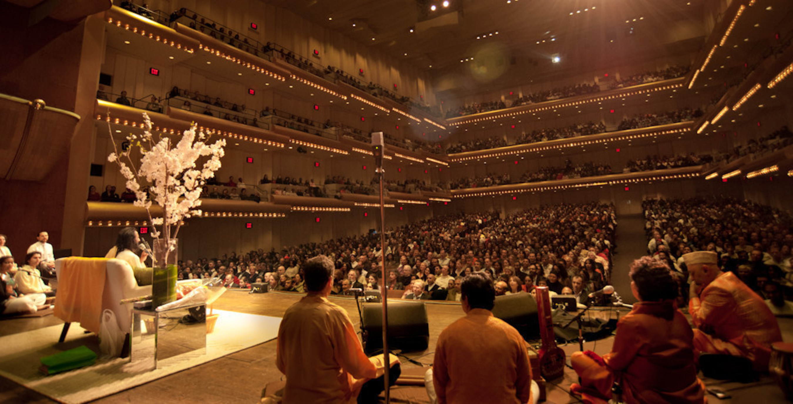 Sri Sri Ravi Shankar at New York's Iconic Lincoln Center