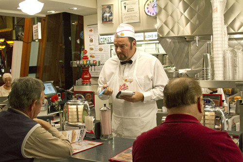 Johnny Rockets President and CEO Goes Undercover, on CBS's 'Undercover Boss'