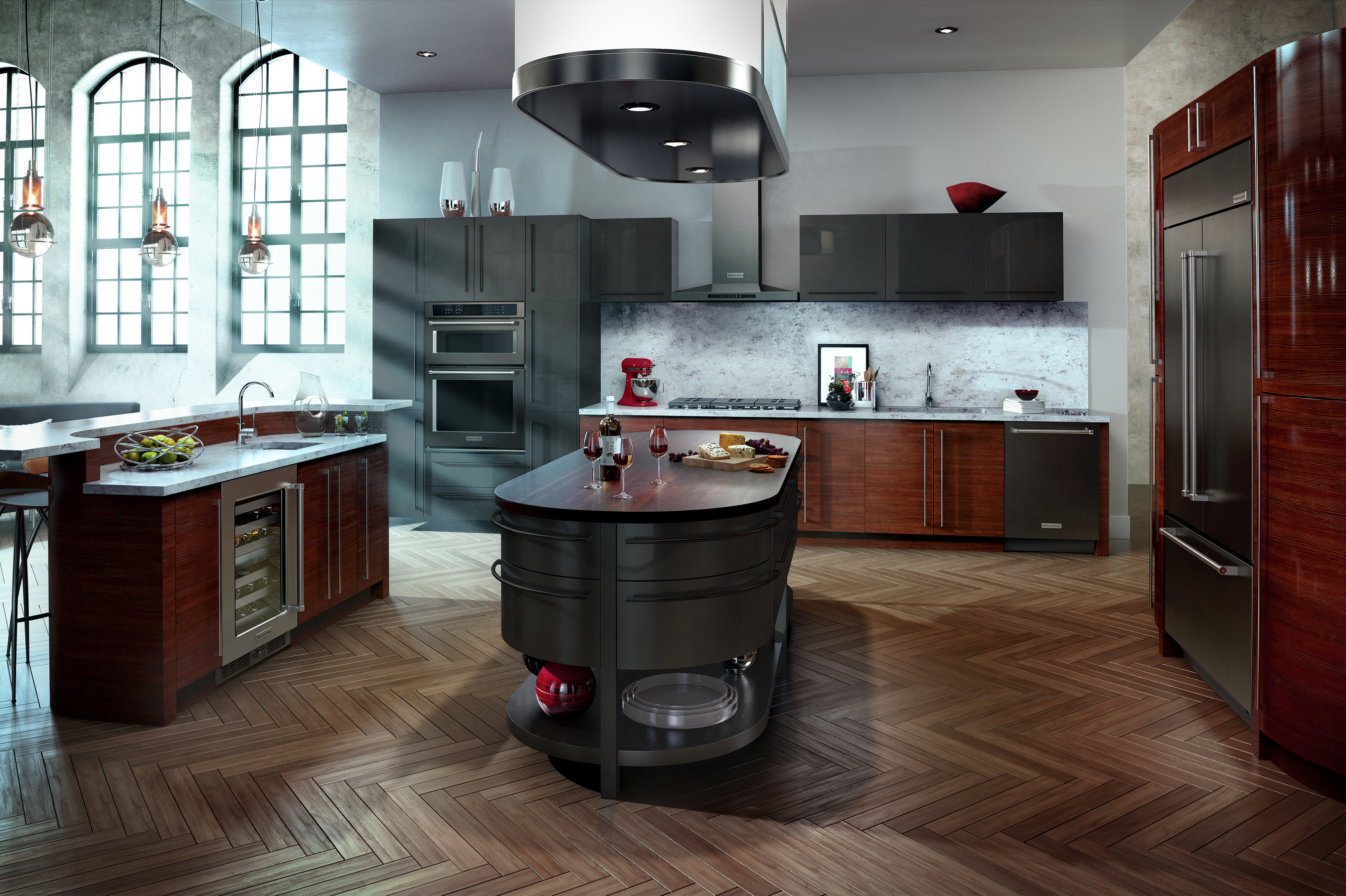 Ready For A Kitchen Revamp New Black Stainless Steel And