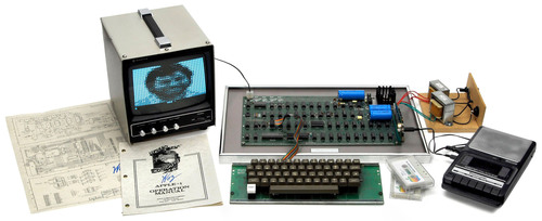 World's 1st PC: The legendary 'Apple I' (1976) at auction Nov.24 / www.Breker.com.  (PRNewsFoto/Auction Team Breker)