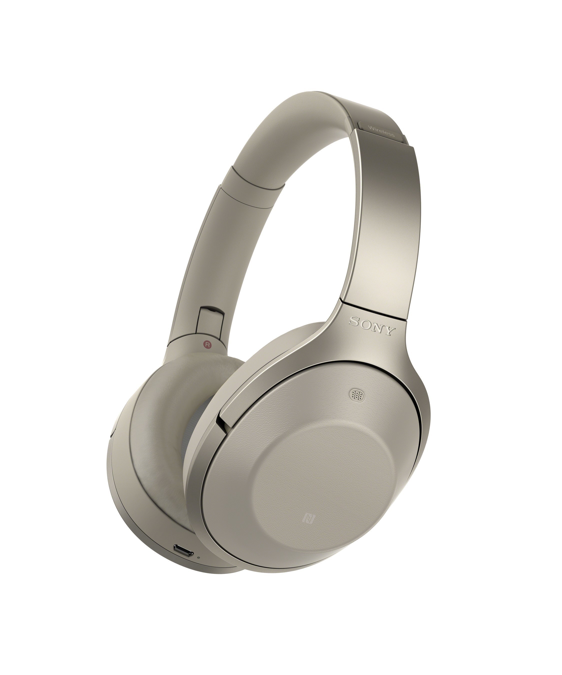 Sony's new MDR-1000X noise cancelling headphones.