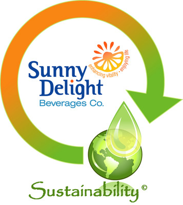 Sunny Delight Beverages Co. Sustainability Logo.