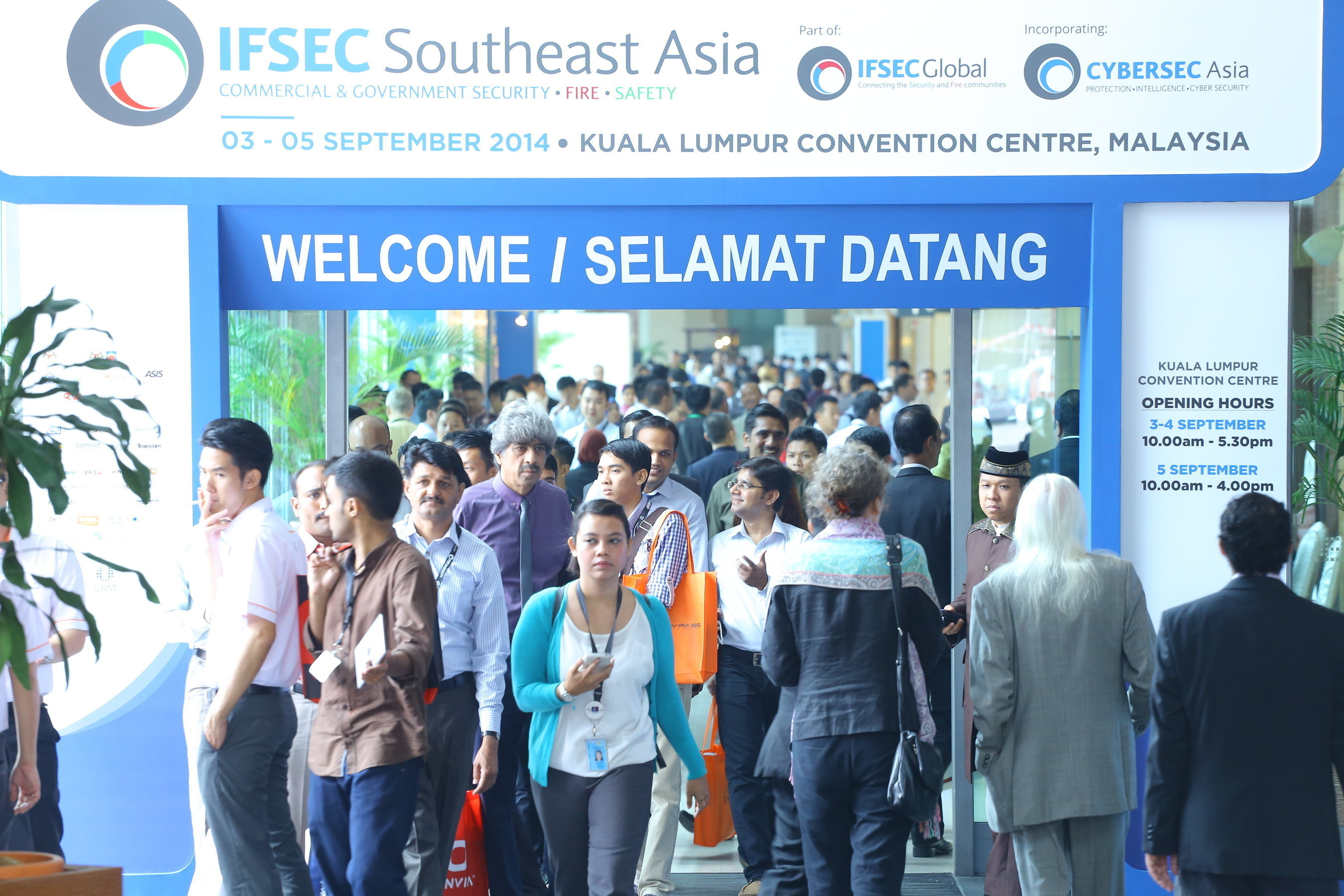 IFSEC Southeast Asia 2015 - The Region's Leading Security, Fire and Safety Event