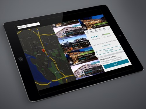 Egencia(r) TripNavigator for iPad: a delightful new user experience with personalized travel shopping, turn-by-turn trip navigation and trip alerts. (PRNewsFoto/Egencia) (PRNewsFoto/Egencia)