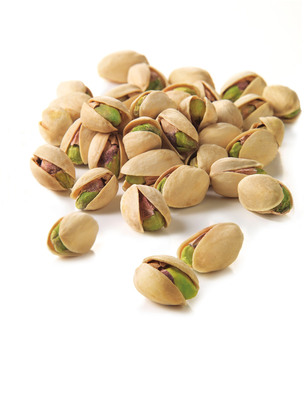 Pistachios offer the most nuts per serving - about 49 kernels per ounce, compared to 23 almonds, 18 cashews and 14 walnuts. (PRNewsFoto/Paramount Farms) (PRNewsFoto/PARAMOUNT FARMS)