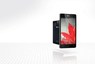 LG Optimus G from Sprint.  (PRNewsFoto/LG Electronics USA)