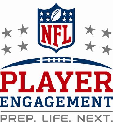 NFL Player Engagement logo.  (PRNewsFoto/AARP)