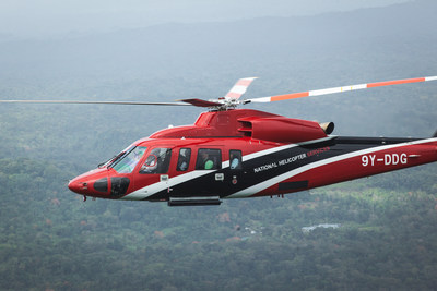 National Helicopter Services S-76D helicopter has accumulated 500 flight hours. (PRNewsFoto/Sikorsky Aircraft Corp.)