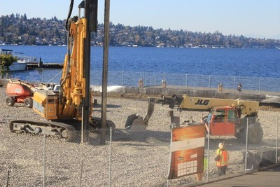SECO Development's Hotel at Southport on Lake Washington under construction.