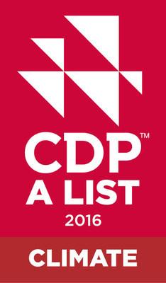 CDP A LIST 2016 CLIMATE (PRNewsFoto/Arcelik A.S.)