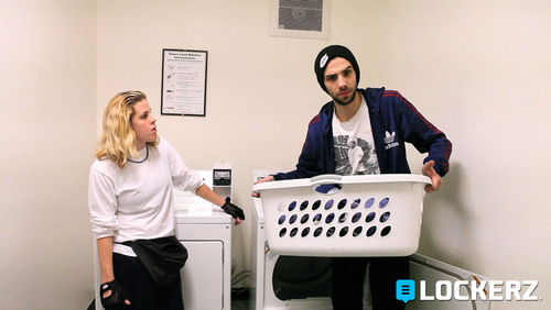 "Cierra Solis and Jay Baruchel star in ""Marcy,"" an original comedy Web series produced by ..."
