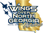 Wings Over North Georgia logo. (PRNewsFoto/JLC AirShow Management)