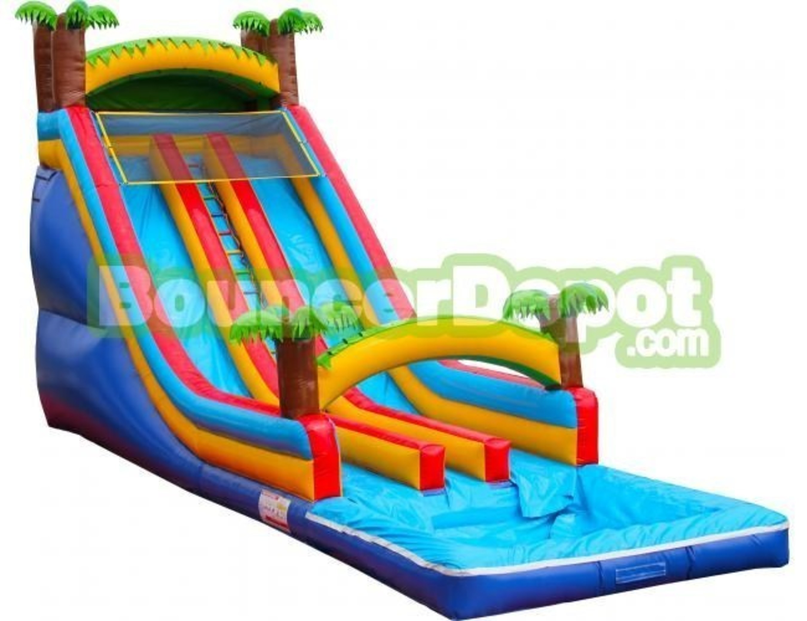 Bouncer Depot Announces New Inflatable Slide and Bounce House Models for 2016