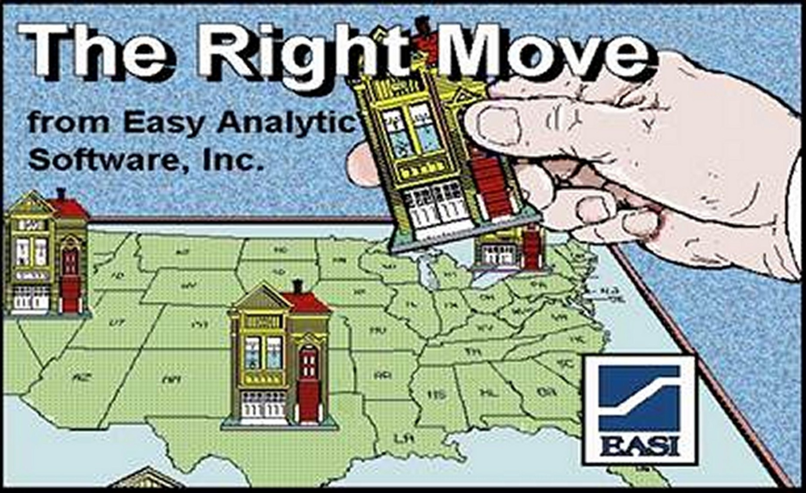 The Right Move', A New Mobile App for Location Analysis -- Anytime, Anywhere