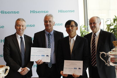 Hisense Australia Extends Naming Rights to World Class Arena and Sponsorship with Australian Open (PRNewsFoto/Hisense Group)