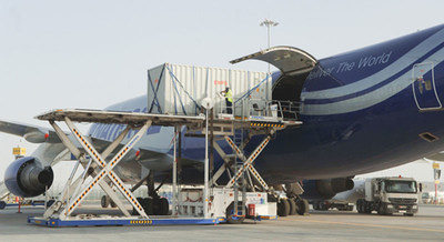National Airlines delivers medical and other supplies to Liberia (PRNewsFoto/National Airlines)