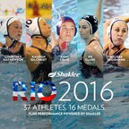 Shaklee Pure Performance Team athletes win 16 medals in Rio.