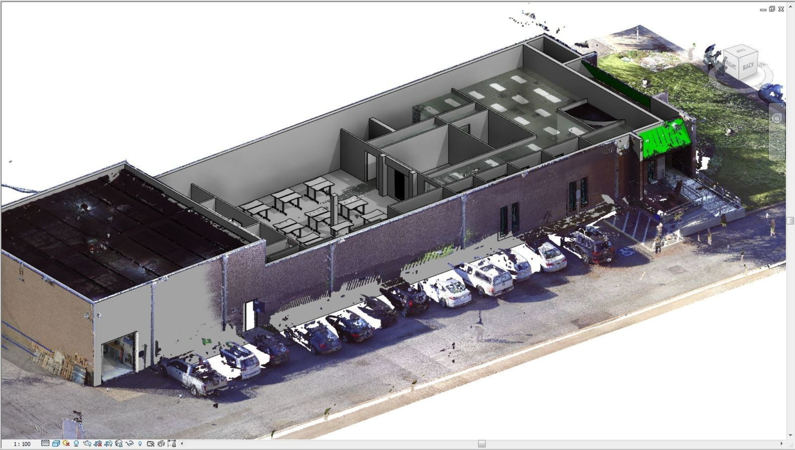 FARO® simplifie les flux de travail des plans définitifs à la modélisation des données du bâtiment