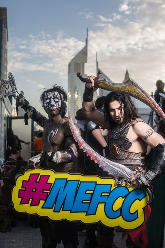 Cosplayers at MEFCC 2016 (PRNewsFoto/Middle East Film and Comic Con)