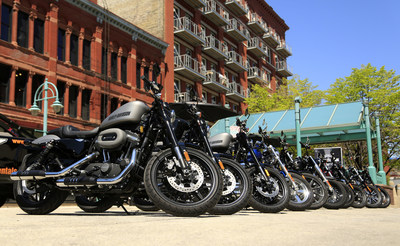 To introduce its new Dark Custom Roadster motorcycle, Harley-Davidson took its stripped-down, agile bike to the city streets via pop-up motorcycle-shares to give people a chance to test out the bike in its intended urban environment. To test ride a Roadster or any of the 2016 motorcycles, visit a Harley-Davidson authorized dealership or schedule a test ride online at H-D.com.