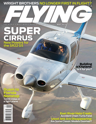 May 2013 Flying magazine.  (PRNewsFoto/Cirrus Aircraft)