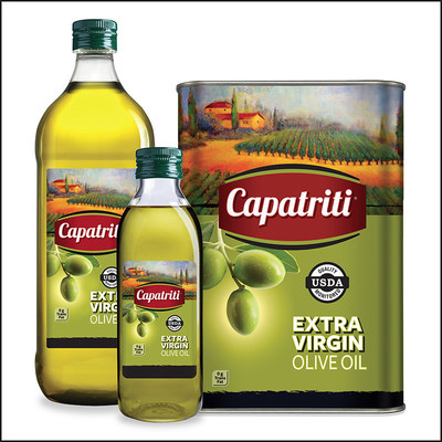 Capatriti(R) Extra Virgin Olive Oil, manufactured by Gourmet Factory(TM), family of products