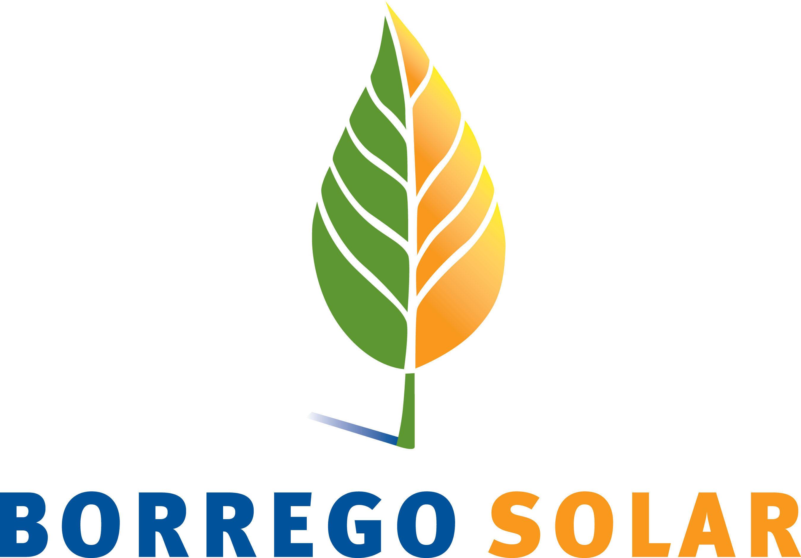 Borrego Solar Systems' logo.