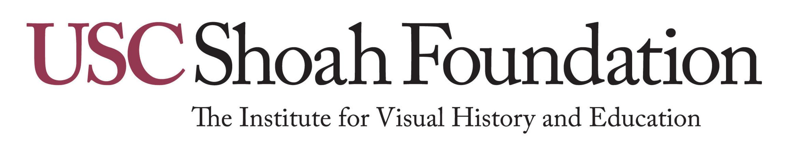 USC Shoah Foundation logo.