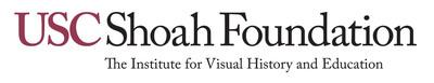 USC Shoah Foundation logo. (PRNewsFoto/USC Shoah Foundation Institute)