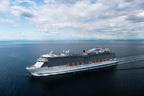 Princess Cruises' new ship, Regal Princess, officially joins fleet. (PRNewsFoto/Princess Cruises)