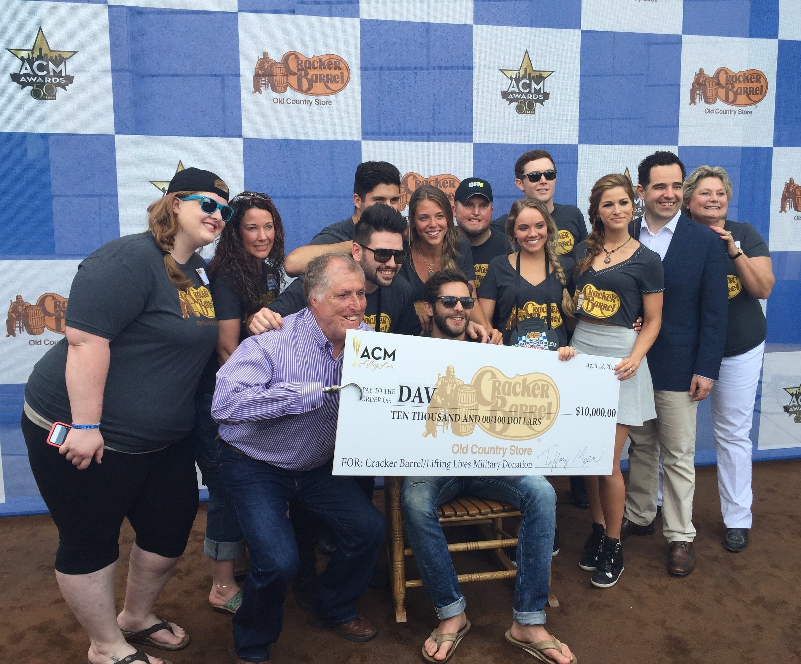 DAV Participates in Cracker Barrel Country Checkers Challenge'' at 3rd Annual ACM Party for a Cause Festival
