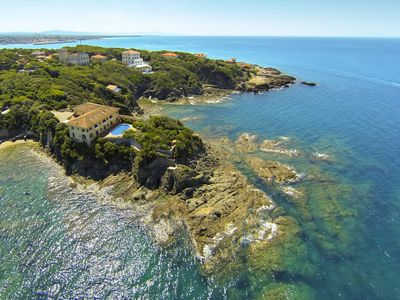 Villa Godilonda (Castiglioncello, Italy) Panoramic view from high point (PRNewsFoto/Lionard Luxury Real Estate)
