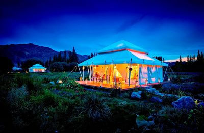TUTC's luxury camp at Thiksey, Ladakh