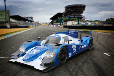 Mazda will return to Le Mans competition in 2013 with a customer program for the new SKYACTIV-D CLEAN DIESEL engine in the LMP2 category.  (PRNewsFoto/Mazda Motorsports)