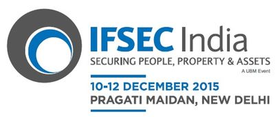 UBM India's 9th International Fire & Security Exhibition and Conference (IFSEC) India Expo 2015 , one of the world's leading annual exhibitions for the security industry, is scheduled to be held from the 10th to 12th December 2015 at Pragati Maidan, New Delhi.