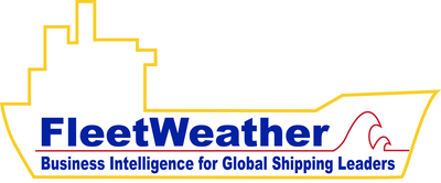 FleetWeather - Shipping's First Business Intelligence Solution - www.fleetweather.com 1-845-226-8400. (PRNewsFoto/FleetWeather Ocean Services, Inc.) (PRNewsFoto/FLEETWEATHER OCEAN SERVICES)