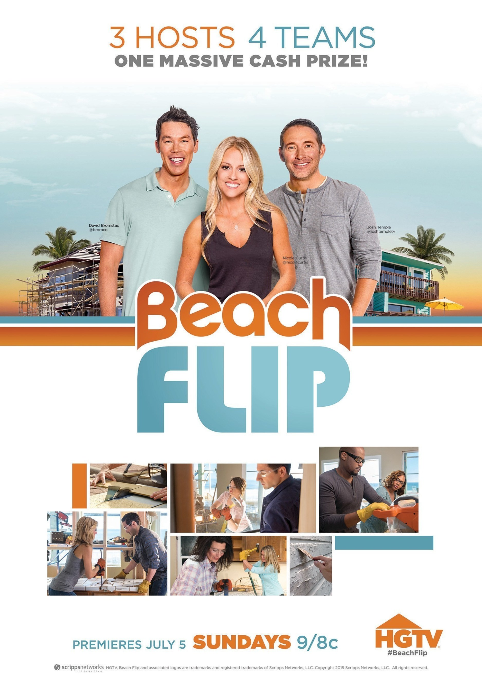 HGTV's Hot New Renovation Competition Series 'Beach Flip' Debuts July 5
