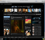 USA Network's Personalized Social Dashboard.  (PRNewsFoto/USA Network)