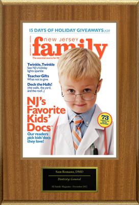 Madison's Sam Romano selected for NJ's Favorite Kids' Docs.  (PRNewsFoto/American Registry)