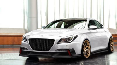 ARK PERFORMANCE INJECTS EXTRA PERFORMANCE AND LUXURY INTO ALL-NEW  HYUNDAI GENESIS (PRNewsFoto/Hyundai Motor America)