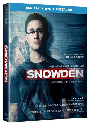 From Universal Pictures Home Entertainment: Snowden