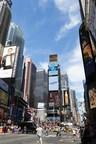 Anhui's Tourism Video Landed in New York Times Square (PRNewsFoto/Anhui Provincial Tourism Bureau)