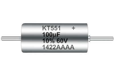KEMET T551 Polymer Hermetic Seal Series Capacitor (PRNewsFoto/KEMET Corporation)